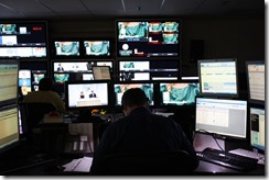 Image: HSN live broadcast control room.