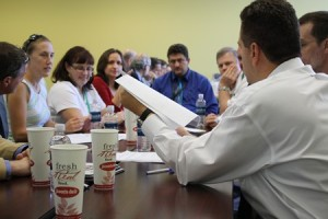 Image: National Academy of Inventors preliminary judging 2011 at USF, Tampa.