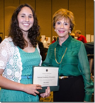 Mica Jadick and USF System President Judy Genshaft