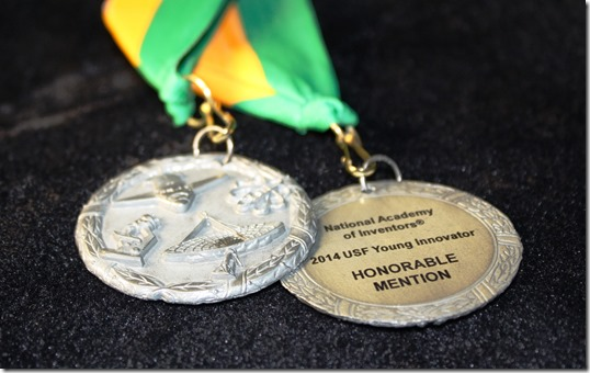 National Academy of Inventors - Young Innovator Honorable Mention