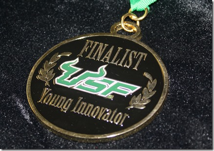 2015 Finalist Medals - USF Young Innovator Competition